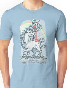 Unicorn Leap Frog Unisex T-Shirt