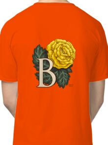 B is for Begonia - full image Classic T-Shirt