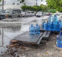 Rainy day in Nassau, The Bahamas by Jeremy Lavender Photography