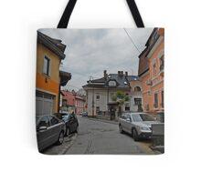 A street,Sarajevo. Tote Bag