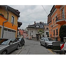 A street,Sarajevo. Photographic Print