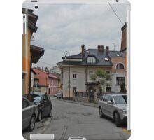 A street,Sarajevo. iPad Case/Skin