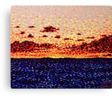 'Sunset at Sea'   Canvas Print