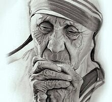 Mother Teresa... by Harry Mootoosamy