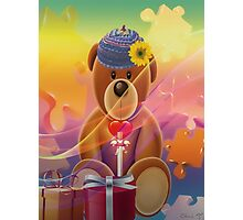 Mr.Teddy Bear Photographic Print