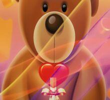 Mr.Teddy Bear Sticker