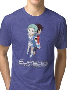 Eureka Seven - Eureka and Renton Tri-blend T-Shirt
