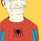 Elderly Spiderman by Zach Woomer