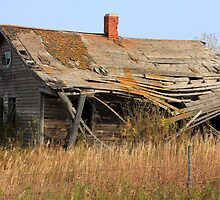 Abandoned Prairie Farmhouse by Jim Sauchyn