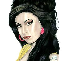 Amy Winehouse by Jody Moore