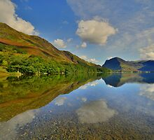 The Lake District: Buttermere Reflections by Rob Parsons
