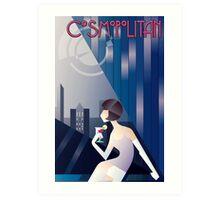 Cosmopolitan Art Print