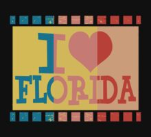 I love Florida and Pop art 2 by Nhan Ngo