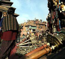 Market, Patan City by V1mage
