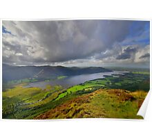 The Lake District: View Over Bassenthwaite Lake Poster
