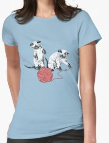 Siamese Kittens I Womens Fitted T-Shirt