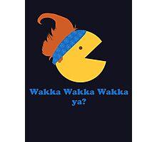 Wakka Wakka Wakka Ya? Photographic Print