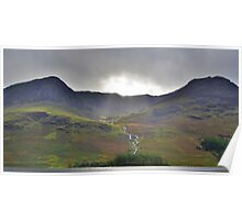 The Lake District: 'Let There Be Light' Poster