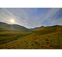 The Lake District: Sunrise Over Skiddaw Photographic Print