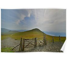 The Lake District: Gateway to Skiddaw Little Man Poster