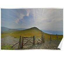The Lake District: Gateway to Skiddaw Little Man Poster