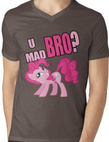 U MAD BRO? Mens V-Neck T-Shirt
