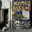 Atomik Tattoo Parlour, Marseilles, France, Europe 2012 by muz2142