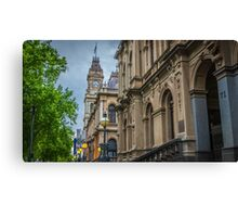 The Old Bendigo Town Hall - Bendigo, Victoria Canvas Print