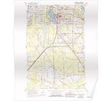 USGS Topo Map Washington State WA Spanaway 243884 1959 24000 Poster