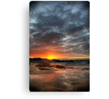 Sunset Over St Ives Canvas Print