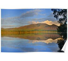 The Lake District: Skiddaw Reflections Poster