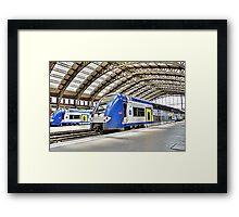 SNCF in Lille Framed Print