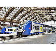 SNCF in Lille Photographic Print