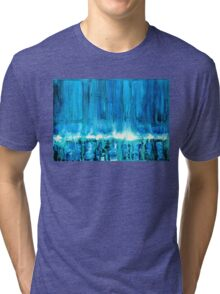 Breakers off Point Reyes original painting Tri-blend T-Shirt