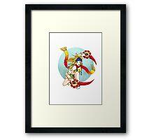 Rikku Framed Print