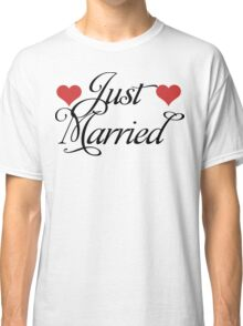 Just Married Classic T-Shirt