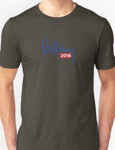 Hillary Clinton 2016 Signature Unisex T-Shirt