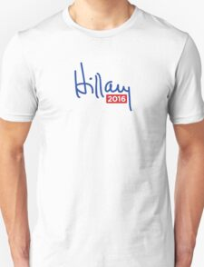 Hillary Clinton 2016 Signature T-Shirt