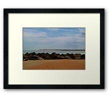 Inlet Framed Print