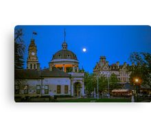 Four Icons of Bendigo in Springtime Canvas Print