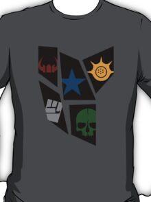 Black Rock icons T-Shirt