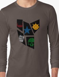 Black Rock icons Long Sleeve T-Shirt