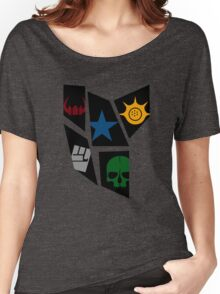 Black Rock icons Women's Relaxed Fit T-Shirt