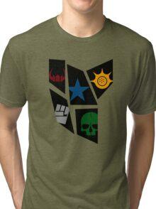 Black Rock icons Tri-blend T-Shirt