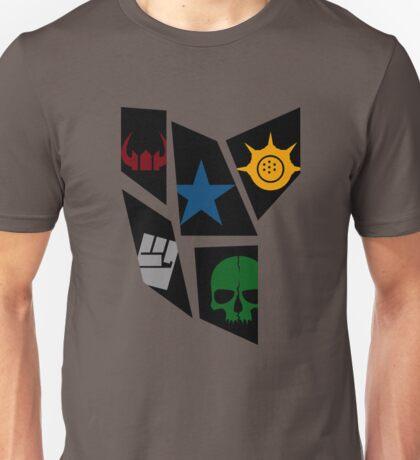 Black Rock icons Unisex T-Shirt