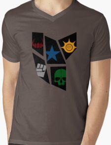 Black Rock icons Mens V-Neck T-Shirt