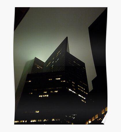 Lexington Avenue, Gotham City Poster