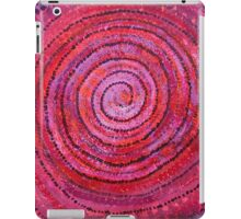 Sits in the Middle & Knows original painting iPad Case/Skin