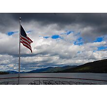Autumn Day 1 - Lake George NY Photographic Print