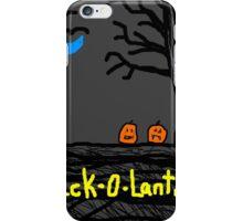 halloween jack o lantern Tia Knight iPhone Case/Skin
